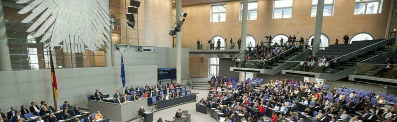 © Foto: Deutscher Bundestag / Marc-Steffen Unger